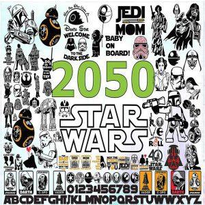 #Star Wars Bundle SVG, Star Wars SVG, Baby Yoda SVG, Mandalorian SVG