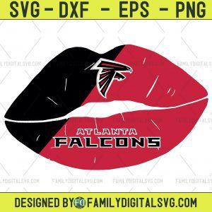 #Atlanta Falcons Lips Svg, Lips NFL Svg, Sport NFL Svg, Lips Nfl Shirt, Silhouette Svg, Cutting Files, Download Instant, BaseBall Svg, Football Svg, HockeyTeam
