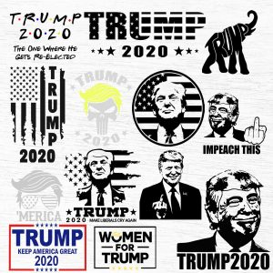Bundle Trump 2020 Svg, Trump 2020 Svg, Trump Make Liberals Cry Again SVG, American Flag Design, Election 2020 SVG, Digital Download