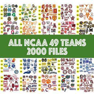 NCAA Sport Svg, Bundle Sport Svg, Mega Bundle NCAA Sport All 30 Teams 4500 Files, Baseball Svg, Football Svg, Christmas Svg, Cut Files