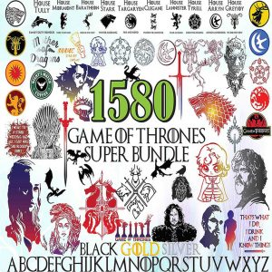 Game Off Throne Svg, Bundle Game Off Throne 1580 Files Svg, Cutting Files, Silhouette Svg, Game Off Throne