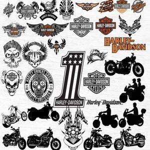 Harley Davidson Svg, Bundle Harley Davidson Svg, Harley Davidson Files, Harley Davidson, Cut Files, Download Digital, Harley Davidson Cricut