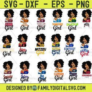 #Bundle Girl Ncaa Sport SVG, Girl Sport SVG, Baseball Sport SVG, Football Sport SVG, Basketball Sport SVG