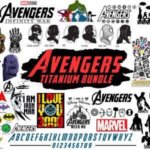 Avengers Svg, End Game Svg, Squad Goals Avengers, Marvel Avengers Cut Files Silhouette Cricut, Instant Download