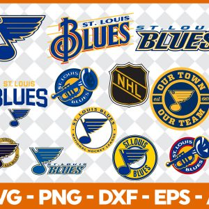 #St. Louis Blues Svg, Sport Svg, Hockey Team Svg, FootBall Svg, BaseBall Svg, NHL Sport Svg, Silhouette Svg, Cricut, Cutting Files, Download Instant