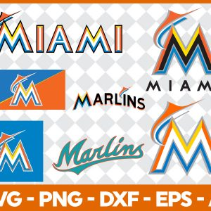 #Miami Marlins Svg, Sport Svg, Hockey Team Svg, FootBall Svg, BaseBall Svg, MLB Sport Svg, Silhouette Svg, Cricut, Cutting Files, Download Instant