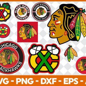 #Chicago Blackhawks Svg, Sport Svg, Hockey Team Svg, FootBall Svg, BaseBall Svg, NHL Sport Svg, Silhouette Svg, Cricut, Cutting Files, Download Instant