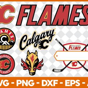 #Calgary Flames Svg, Sport Svg, Hockey Team Svg, FootBall Svg, BaseBall Svg, MLS Sport Svg, Silhouette Svg, Cricut, Cutting Files, Download Instant
