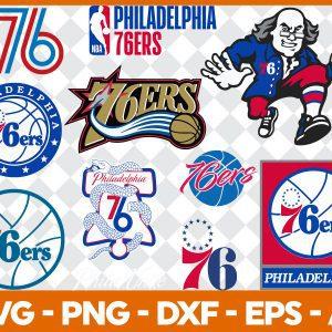 #Philadelphia 76ers Svg, Sport Svg, Hockey Team Svg, FootBall Svg, BaseBall Svg, NBA Sport Svg, Silhouette Svg, Cricut, Cutting Files, Download Instant