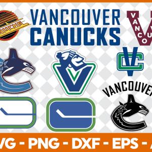 #Vancouver Canucks Svg, Sport Svg, Hockey Team Svg, FootBall Svg, BaseBall Svg, MLS Sport Svg, Silhouette Svg, Cricut, Cutting Files, Download Instant