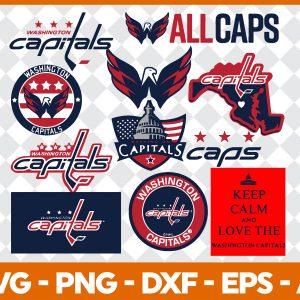 #washington Capitals Svg, Sport Svg, Hockey Team Svg, FootBall Svg, BaseBall Svg, NHL Sport Svg, Silhouette Svg, Cricut, Cutting Files, Download Instant