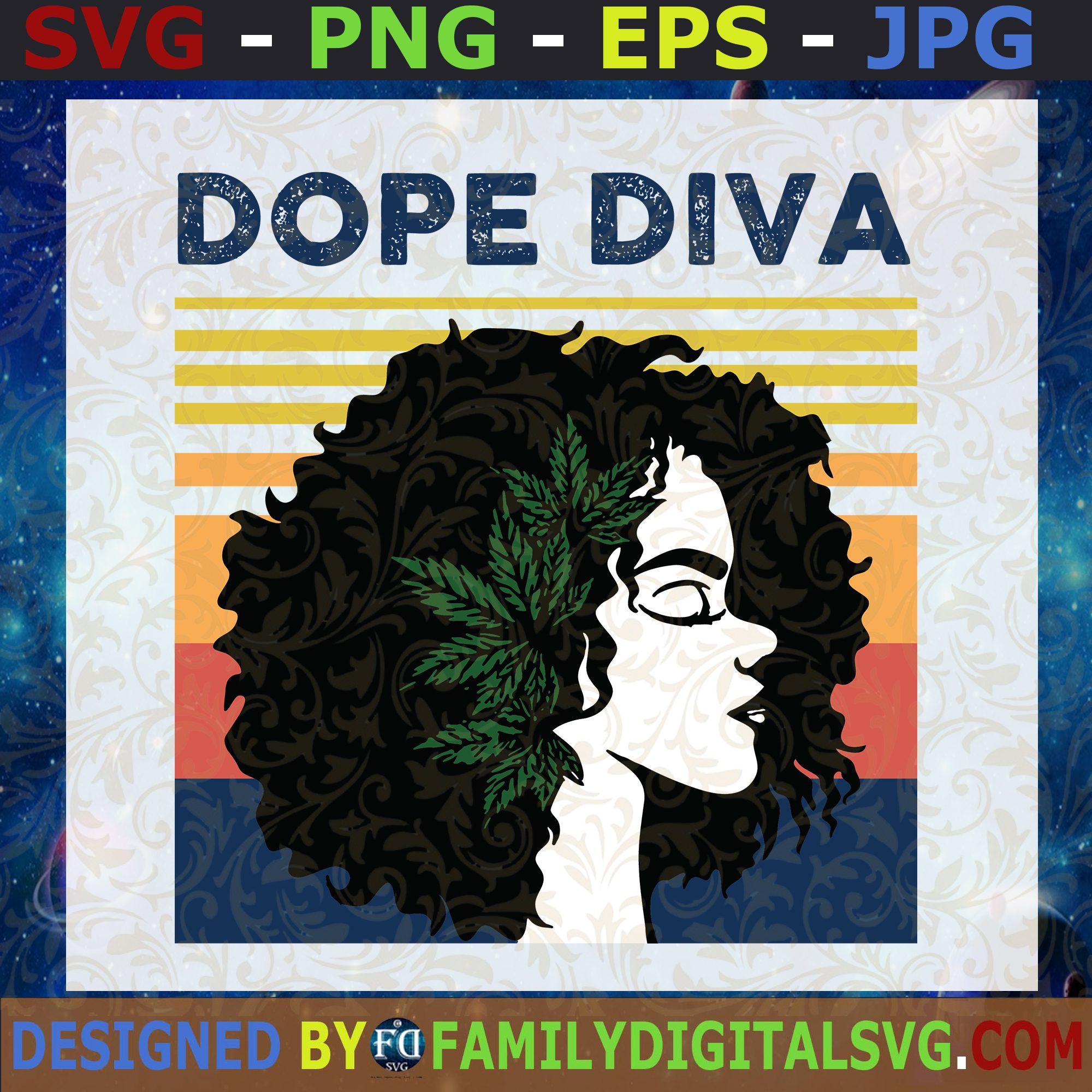 Download #Dope Diva SVG, Queen Svg, Afro Queen Svg, Black Queen Svg ...