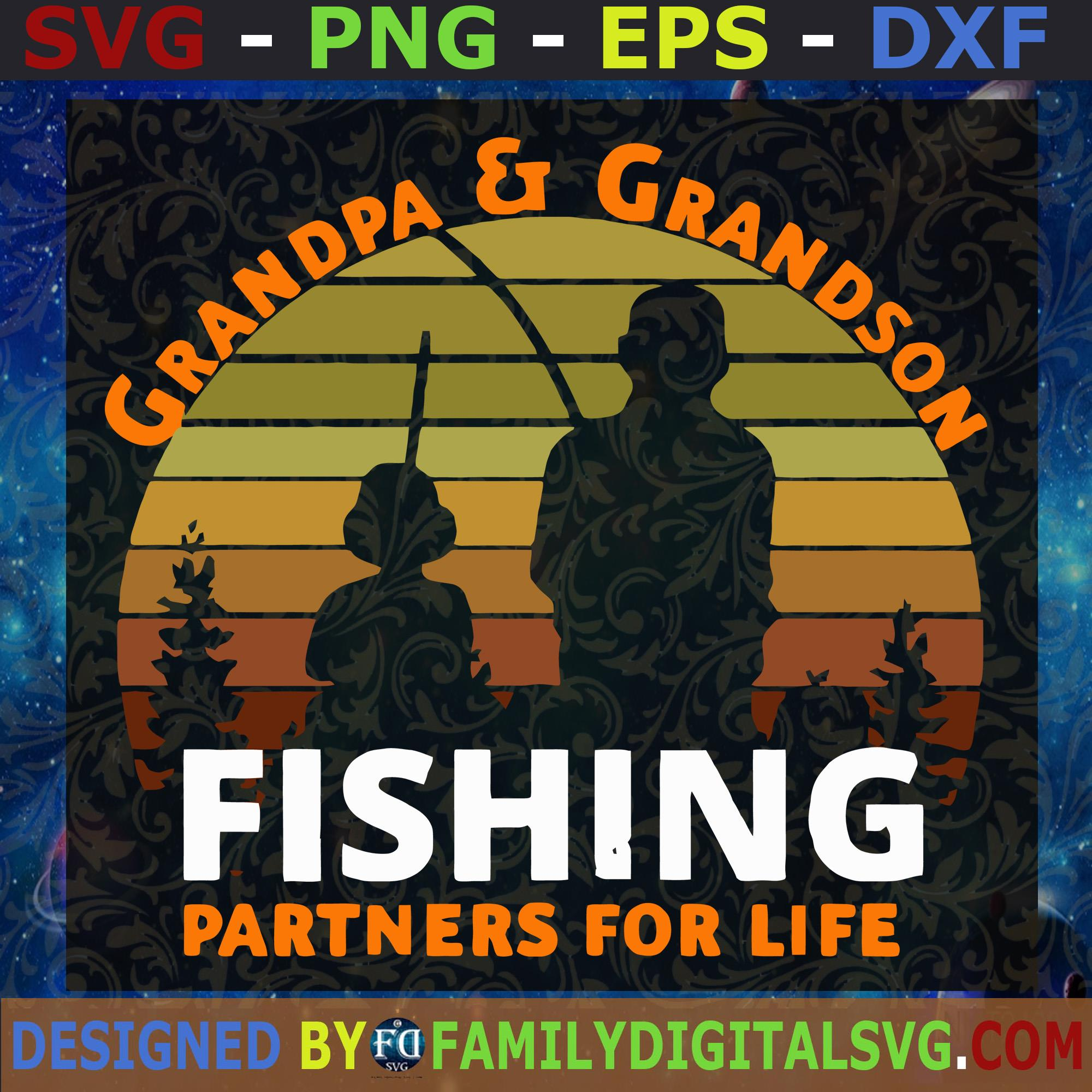 Download Father And Son Fishing Svg File Grandpa And Grandson Fishing Svg Vector Art Commercial Personal Use Cricut Cameo Silhouette Vinyl Cut Svg Png Eps Dxf Silhouette Cut Files For Cricut Instant Download Vector Download
