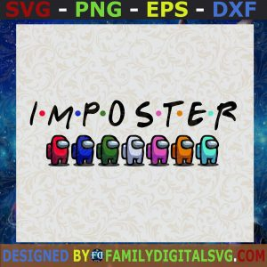 #Among Us Impostor Svg, Funny Video Game Svg, Among Us Svg, Among Us Imposter SVG