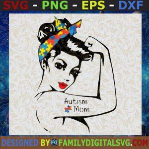 #Autism svg, Autism messy bun mom life, autism Awareness svg, svg Files for Cricut Silhouette svg jpg png dxf