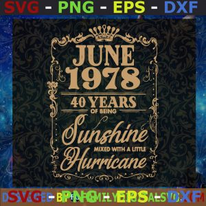 #June 1978 Svg, My Sunshine Svg, Daddy And Son Svg, Happy Father's Day Svg