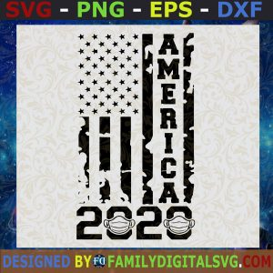 #American 2020 Svg, American Mask Svg, COVID-19 Svg, 2020 Is Bad Svg