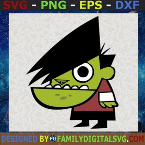 #The Gangreen Gang, Powerpuff Girl Villains SVG | Digital Files, Cut Files For Cricut, Instant Download, Vector, Download Print Files