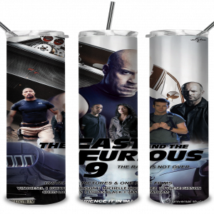 #Fast and Furious 9 Poster, Main Characters, Action Movie, Car Racing, Cool, Printing on Cups, Mugs, Idea for Perfect Gift | Digital Files, Cut Files For Cricut, Instant Download, Vector, Download Print Files