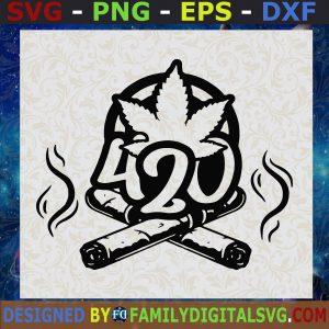 #420 Weed SVG, Cannabis SVG, Marijuana SVG