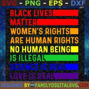 Black Lives Matter Svg, Protest Svg, Black Lives Svg