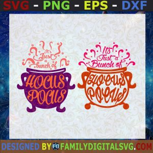 #It's Just a Bunch of Hocus Pocus| Halloween - SVG DXF JPG PNG