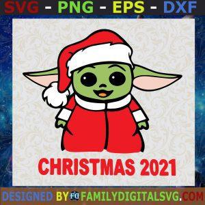 #Baby Yoda Hug Ornament Merry Christmas SVG, Baby Yoda SVG, Santa Alien SVG, Merry Christmas SVG