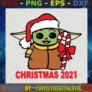 #Baby Yoda Christmas Star Wars The Mandalorian SVG PNG EPS DXF ,The Child Christmas The Mandalorian svg png