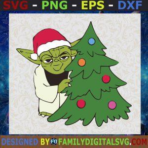 #Baby Yoda Pine tree SVG, Baby yoda SVG, Christmas 2021 Baby Yoda SVG