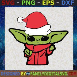 #Baby Yoda Christmas Christmas, Christmas Svg, Christmas Svg Files