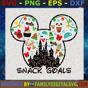 #Disney Snack goals SVG, Disney Quotes svg, dxf png, Disney Mickey Christmas SVG