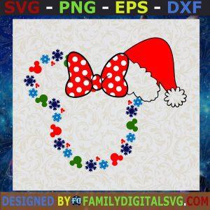 #Snowflake Minnie Winter Wonderland SVG, Inspired by Minnie Mouse SVG, Minnie Mouse SVG