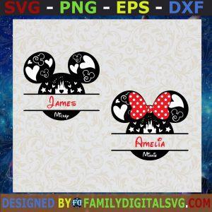 #Mickey Monogram Svg, Minnie Monogram Svg, Monogram Frame, Disney Svg, Minnie Mouse Svg, Mickey Mouse Svg, Monogram Svg Vinyl Cut File Cricut
